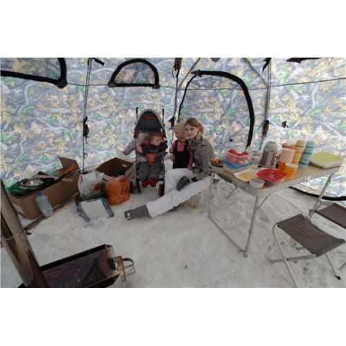 Столик в палатку для зимней рыбалки