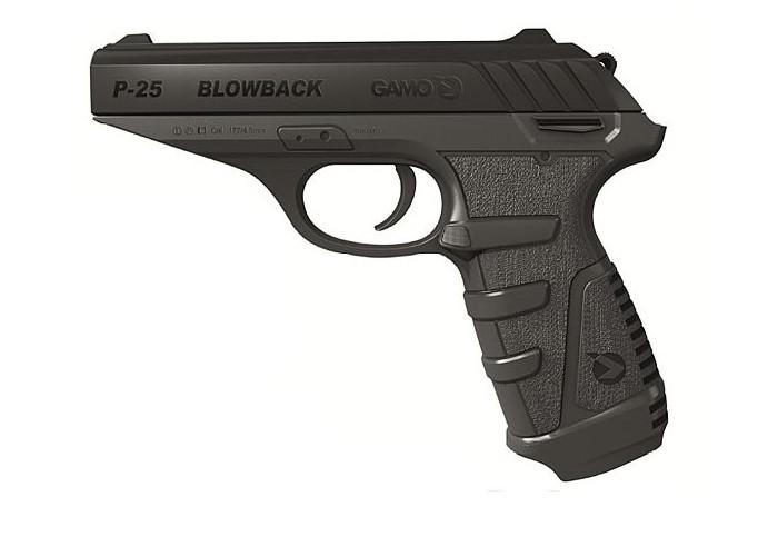 Пистолет пневматический gamo p 25 blowback
