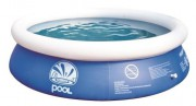 Бассейн PROMPT SET POOLS круглый бассейн+фильтр-насос (530GAL)+лестница+чехол+подстилка 450x90 - Охота и рыбалка